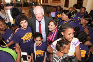 Child care members with Governor Pat Quinn