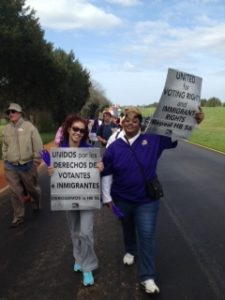 Vicky Hernandez - Selma March pic (3)