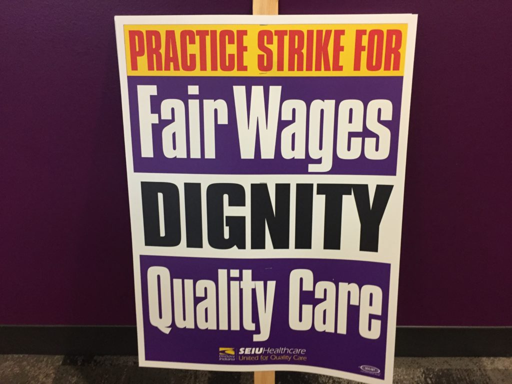 Sign Fair Wage Dignity Quality Care