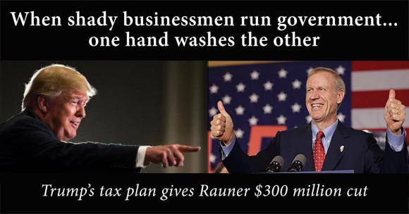 4 RaunerTaxesTrump Washes Rauner FB