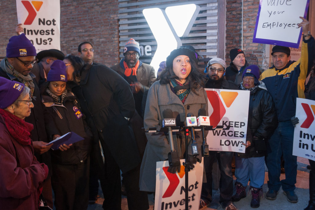 YMCA Strike Presser 29
