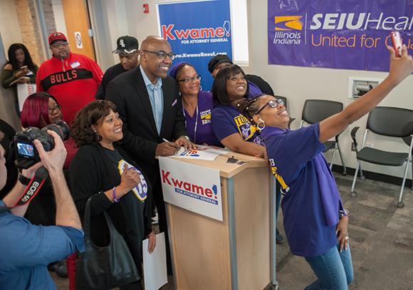 HCIIVotes Kwame Selfie 580
