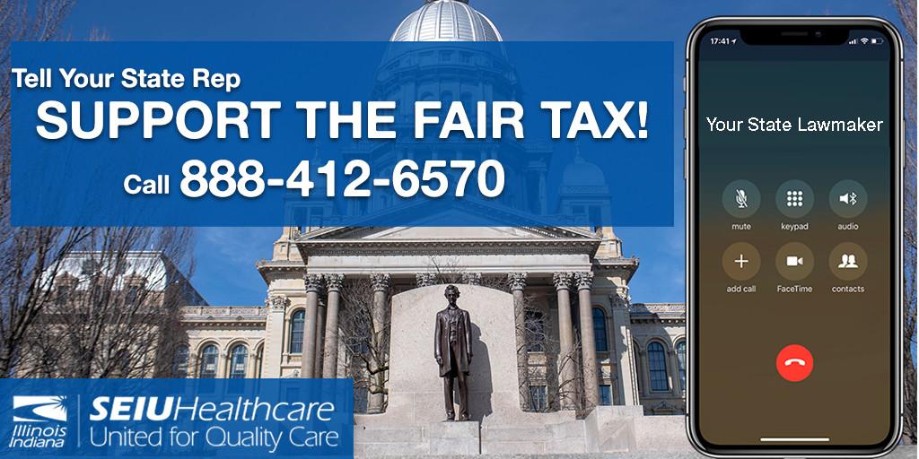 Fair Tax CAll Graphic TW