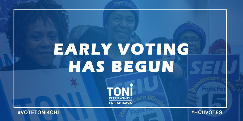 HCIIVotes Early Vote Toni TW