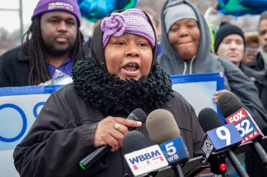 Chicago, Health systems, Hospital Code Blue, Hospitals, Janette Taylor, Jason Irvin, Labor, Protest, Rosanna Rodriguez, SEIU, SEIU HCII, Toni Preckwinkle, unions
