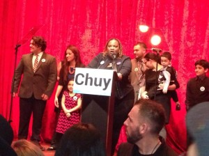 chuy victory-april speaking