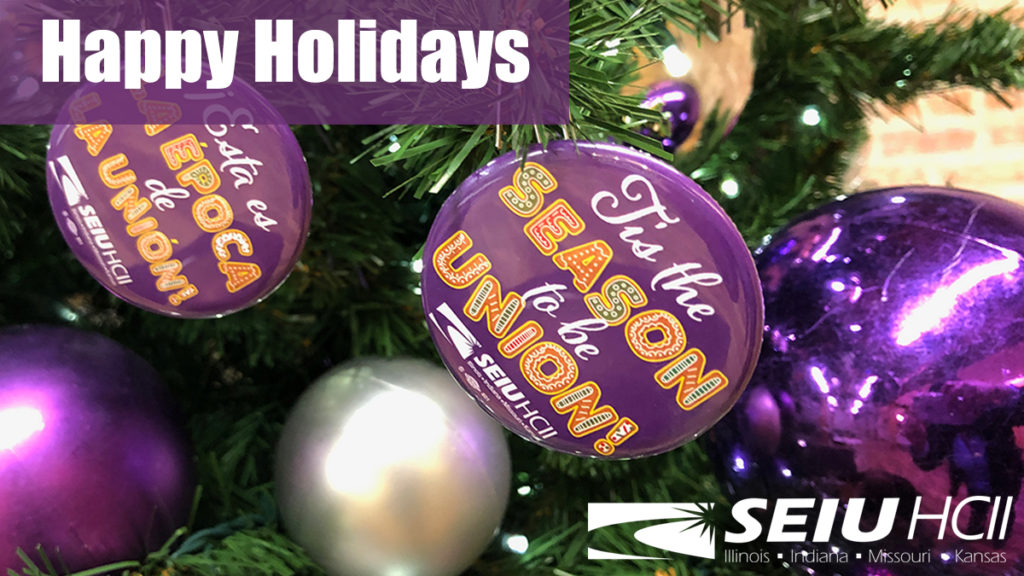 Happy Holiday Button FB