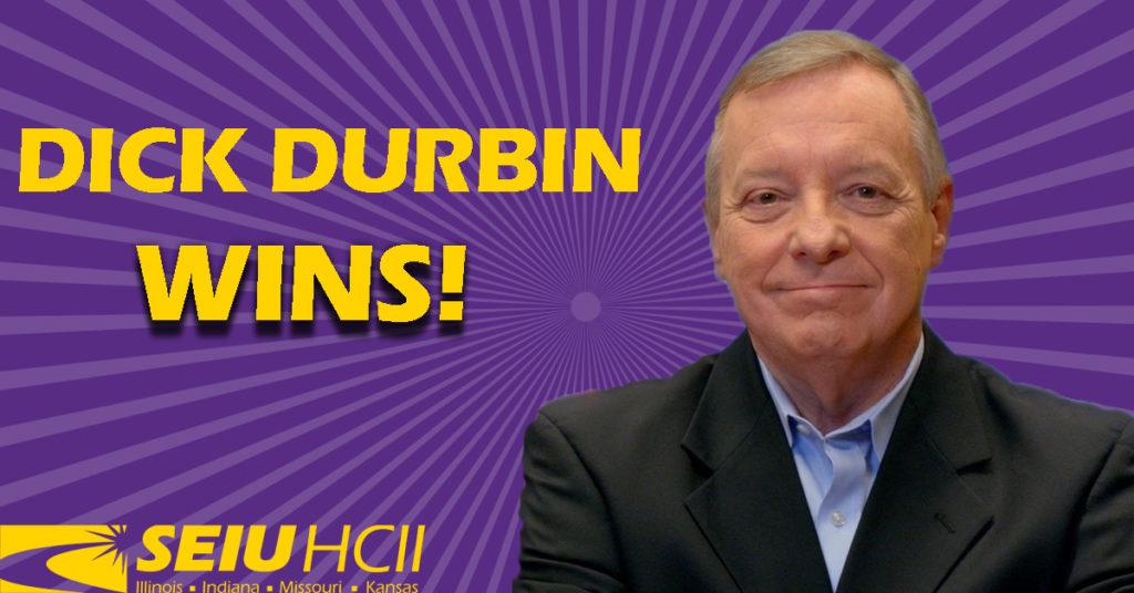 Dick Durbin Wins